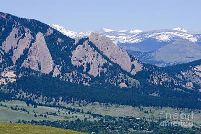 University Of Boulder Colorado Photograph - Boulder In The Summertime by Steve Krull