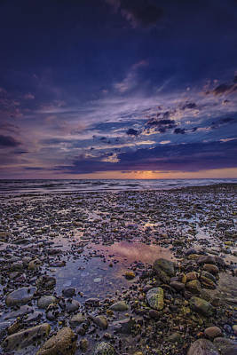 Photograph - Bound Brook Sunset by Rick Berk