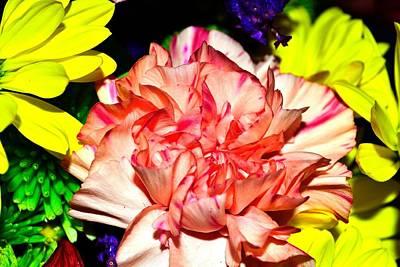 Photograph - Bouquet-of-flowers 1 by Richard Zentner