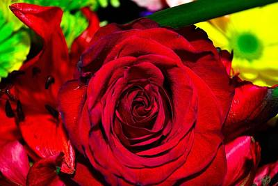 Photograph - Bouquet-of-flowers 7 by Richard Zentner