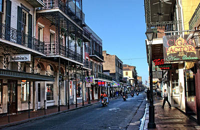 Horse Photograph - Bourbon Street Afternoon by Greg and Chrystal Mimbs