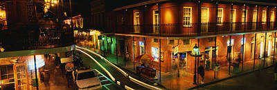 Bourbon Street Photograph - Bourbon Street New Orleans La by Panoramic Images