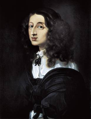 Bourdon, S�bastien 1616-1671. Christina Art Print by Everett