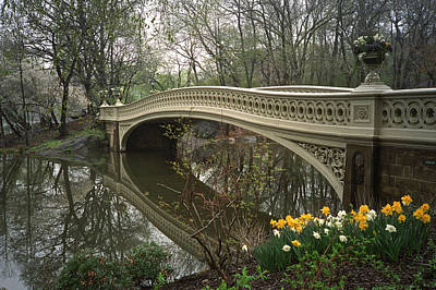 Photograph - Bow Bridge by Cornelis Verwaal
