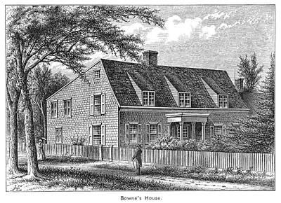 Bowne House, 1661 Art Print by Granger