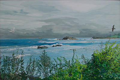 Painting - Brace Cove by Laurence Dahlmer