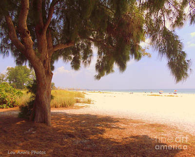 Photograph - Bradenton Beach by Lou Ann Bagnall