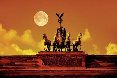 Brandenburg Gate Art Print by Detlev Van Ravenswaay