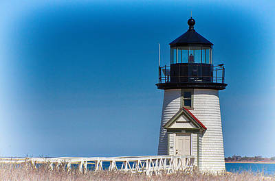Photograph - Brant Point Lighthouse-nantucket by Jeff Folger