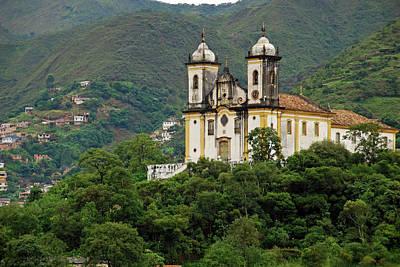 Brazil, Minas Gerais, Ouro Preto Art Print by Anthony Asael