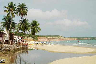 Praia Photograph - Brazil, Rio Grand Do Norte, Praia Da by Anthony Asael