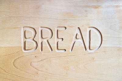 Pantries Photograph - Bread by Tom Gowanlock