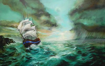 Breaking Storm Original by C J Elsip