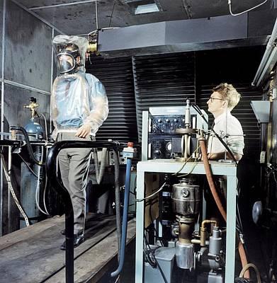 Breathing Apparatus Test Facility Art Print