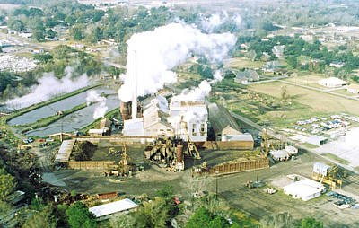 Photograph - Breaux Bridge Sugar Mill by Ronald Olivier