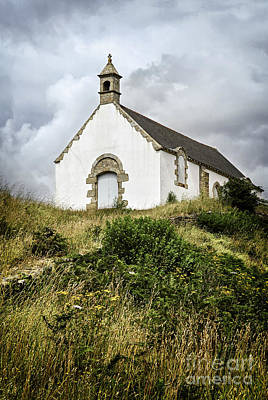 Bretagne Photograph - Breton Church by Elena Elisseeva
