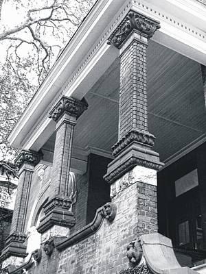 Photograph - Brick Columns by Joe Duket