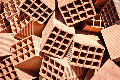 Bricks Art Print by Tom Gowanlock