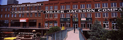 Oklahoma Photograph - Bricktown Mercantile Building by Panoramic Images