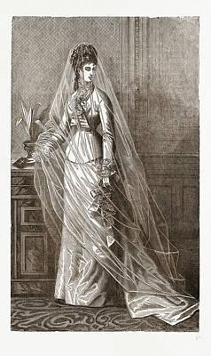 Bridal Toilette, 19th Century  Fashion Art Print by Litz Collection