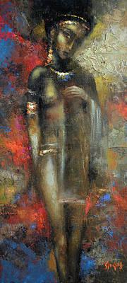 Painting - Bride Maya by Dmitry Spiros