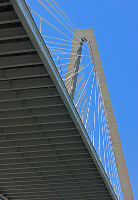 Photograph - Bridge Abstract II by Suzanne Gaff