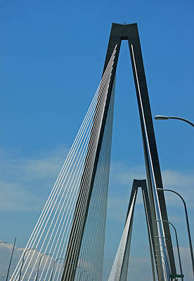 Photograph - Bridge Abstract by Suzanne Gaff