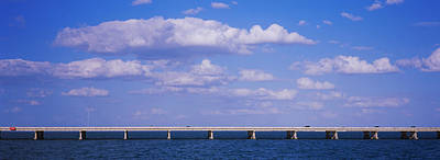 Bay Bridge Photograph - Bridge Across A Bay, Sunshine Skyway by Panoramic Images