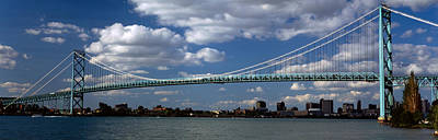 Ambassador Photograph - Bridge Across A River, Ambassador by Panoramic Images