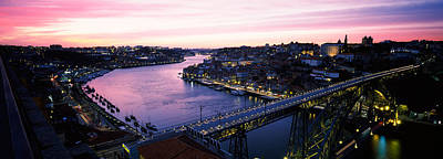 Luis Photograph - Bridge Across A River, Dom Luis I by Panoramic Images