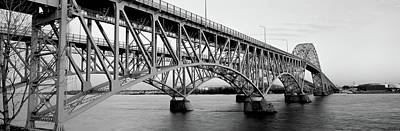 Bridge Across A River, South Grand Art Print by Panoramic Images
