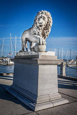 Photograph - Bridge Of Lions St Augustine Florida Painted  by Rich Franco