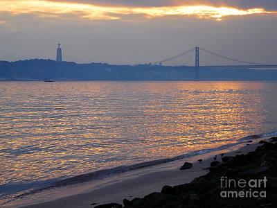 Landscape Photograph - Bridge Over The Tagus by Jose Elias - Sofia Pereira