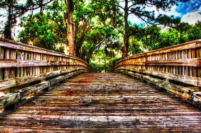 Photograph - Bridge To by Nicholas Evans