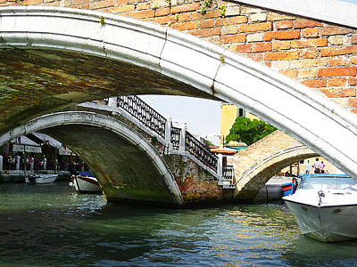 Bridges Of Venice Art Print