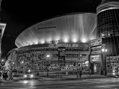 Street Hockey Photograph - Bridgestone Arena - Nashville by Mountain Dreams