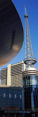 Davidson County Photograph - Bridgestone Arena Tower At Nashville by Panoramic Images