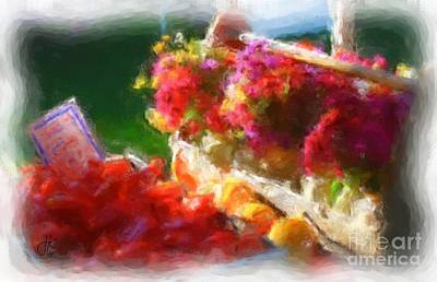 Painting - Bright Botanicals 1101 20141014  by Julie Knapp