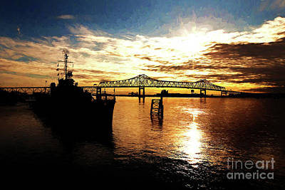 South Louisiana Photograph - Bright Time On The River by Scott Pellegrin