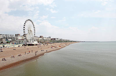 Photograph - Brighton Beach by Richard Newstead