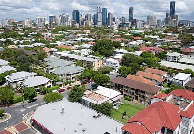 Photograph - Brisbane Skyline, Queensland by Rob Huntley