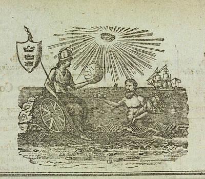 Britannia Photograph - Britannia by British Library