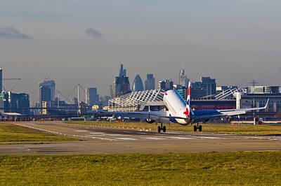 British Airways London Art Print by David Pyatt