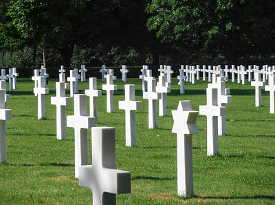 Photograph - Brittany American Cemetery by Dany Lison