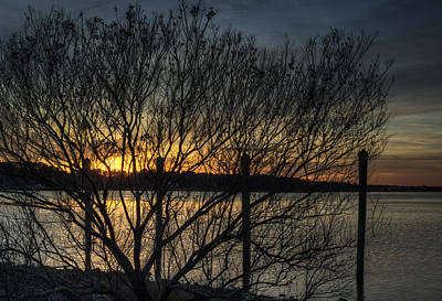 Photograph - Broad Bay Sunset by Pete Federico