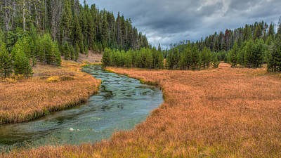 Photograph - Broad Creek Yellowstone by Brenda Jacobs