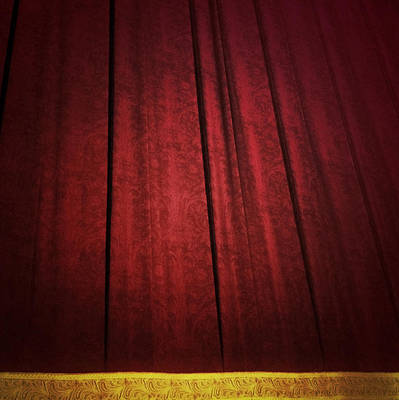 New Stage Digital Art - Broadway Curtain by Natasha Marco