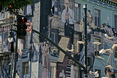 Photograph - Broadway San Francisco by Steven Lapkin