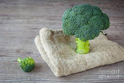 Broccoli Art Print by Sabino Parente