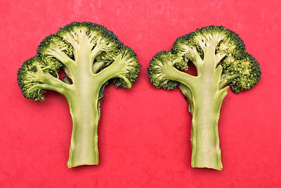 Broccoli Print by Tom Gowanlock